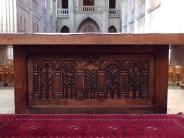 Église Saint-Martin, du Sacré-Coeur - L'autel (2 janvier 2019)