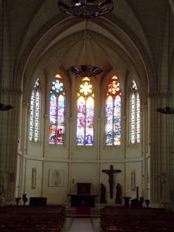 Église Saint-Martin, du Sacré-Coeur - Le choeur (19 mars 2021)