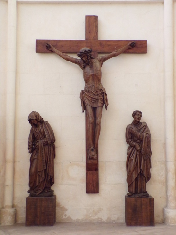 Église Saint-Martin, du Sacré-Coeur - Le Crucifix (2 janvier 2019)