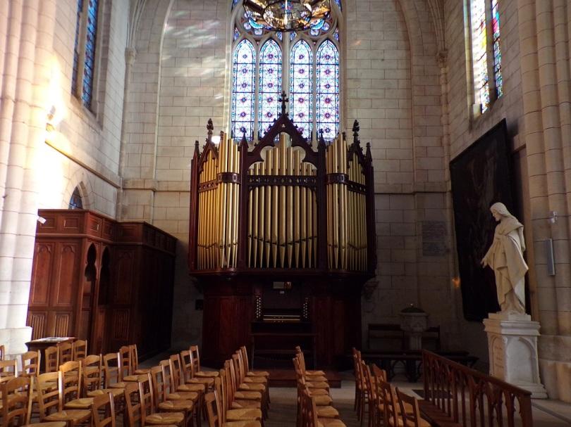 Église Saint-Martin, du Sacré-Coeur - L'orgue (2 janvier 2019)
