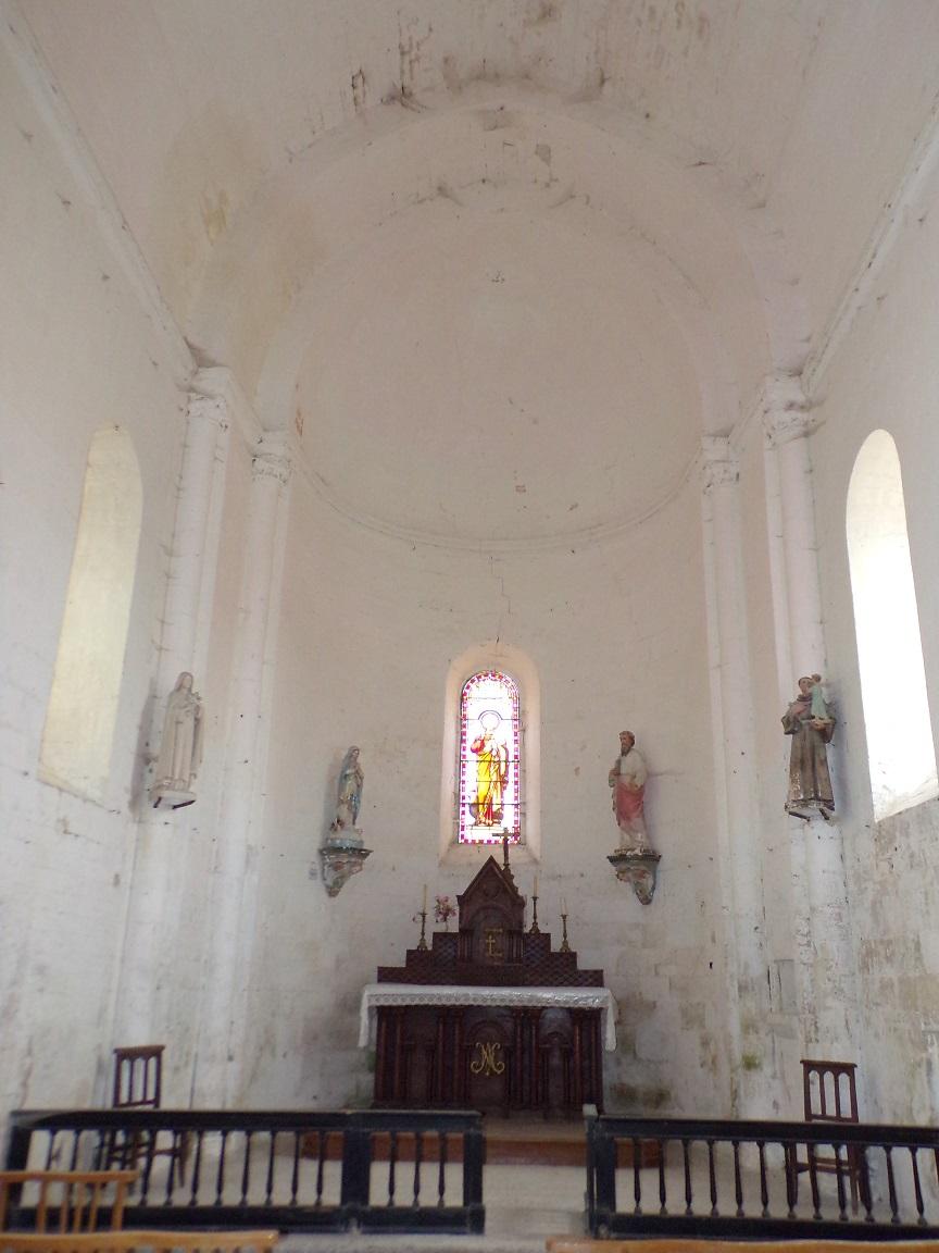 Matha - L'église Saint-Pierre de Marestay - Le Choeur (13 août 2018)