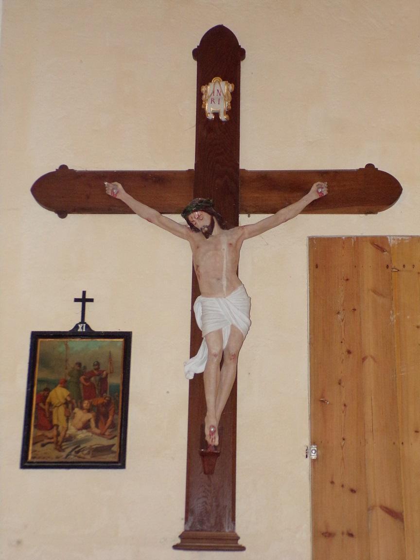 Mesnac - L'église Saint-Pierre - Le Crucifix (16 septembre 2018)