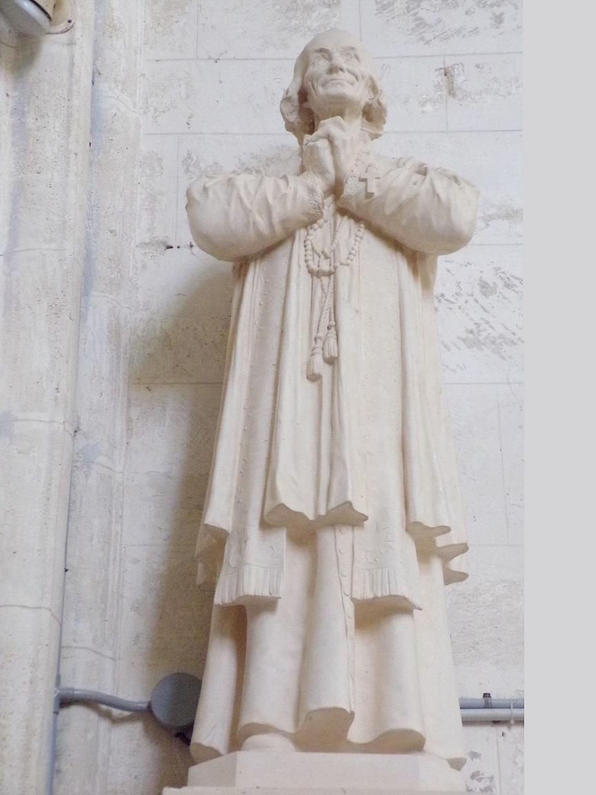 Migron - L'église Saint-Nazaire - Saint Vianney curé d'Ars (19 juin 2019)