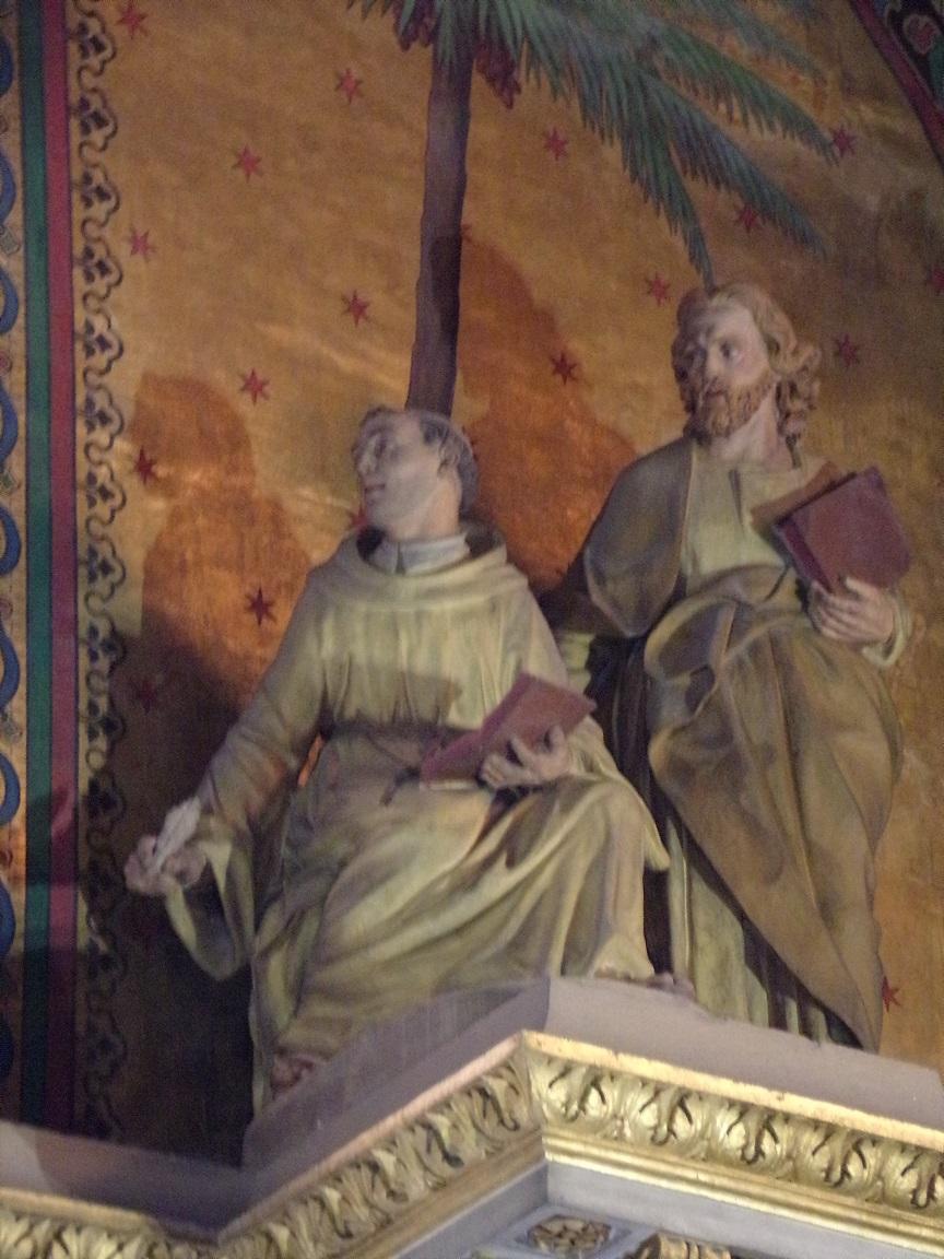 rue Aristide Briand - L'église Saint-Léger - Dans la chapelle 'Marie et l'Enfant' (25 février 2019)