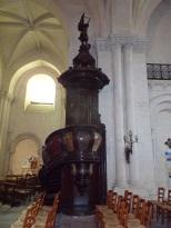 rue Aristide Briand - L'église Saint-Léger - La chaire (19 avril 2021)