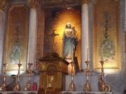 rue Aristide Briand - L'église Saint-Léger - La chapelle 'La Vierge à l'Enfant' (13 août 2016)