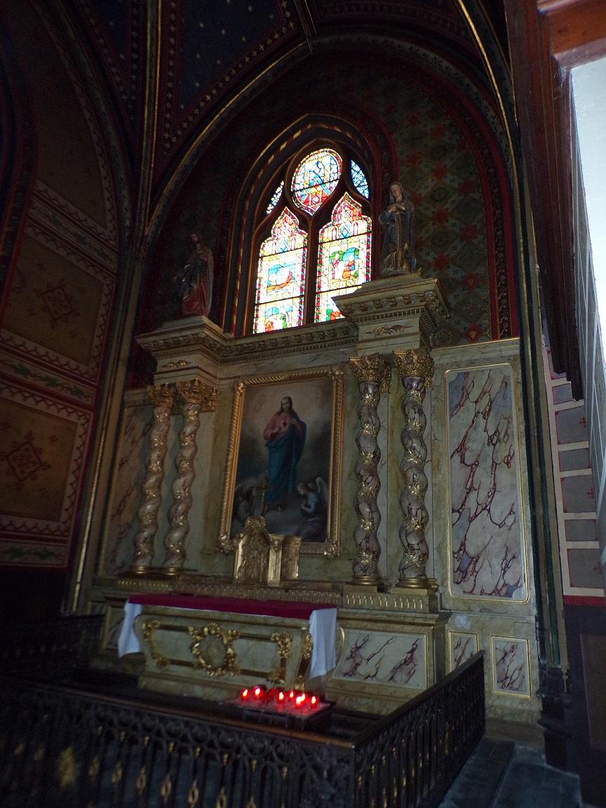 rue Aristide Briand - L'église Saint-Léger - La chapelle 'Sacré Coeur' (13 août 2016)