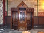 rue Aristide Briand - L'église Saint-Léger - Le confessionnal (25 février 2021)