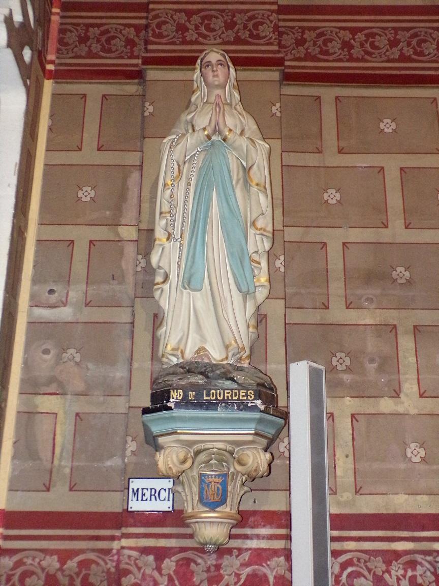 rue Aristide Briand - L'église Saint-Léger - Notre Dame de Lourdes (25 février 2021)