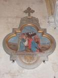 Saint-Brice - L'église Saint-Brice - Le chemin de croix VI 'Ste Véronique essuie la face de Jésus' (25 juillet 2018)