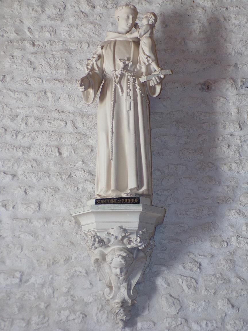 Salignac-sur-Charente - L'église Saint-Louis - Saint Antoine de Padoue (27 juin 2018)
