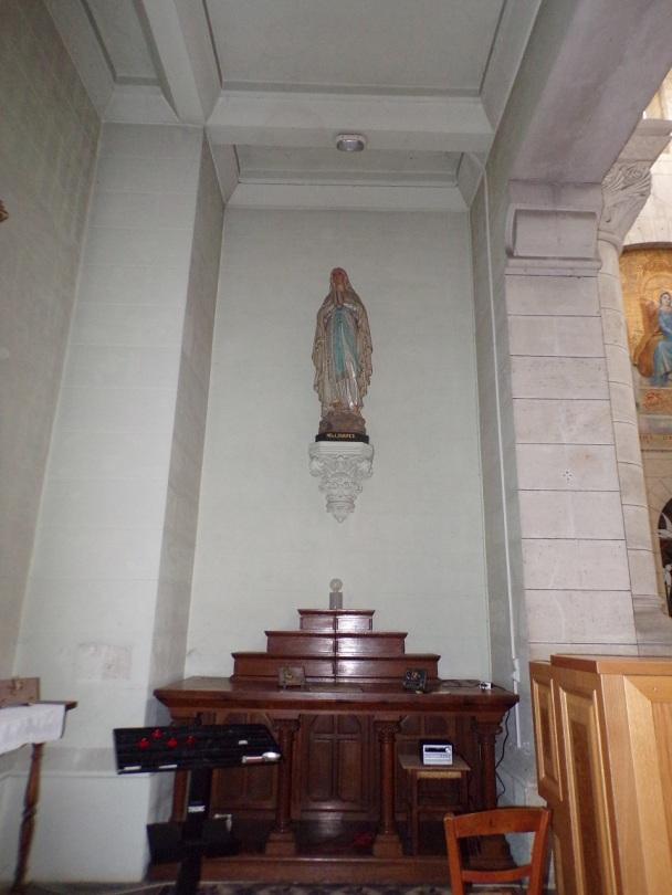 Eglise Saint Antoine – La chapelle Notre Dame de Lourdes (19 mars 2021)