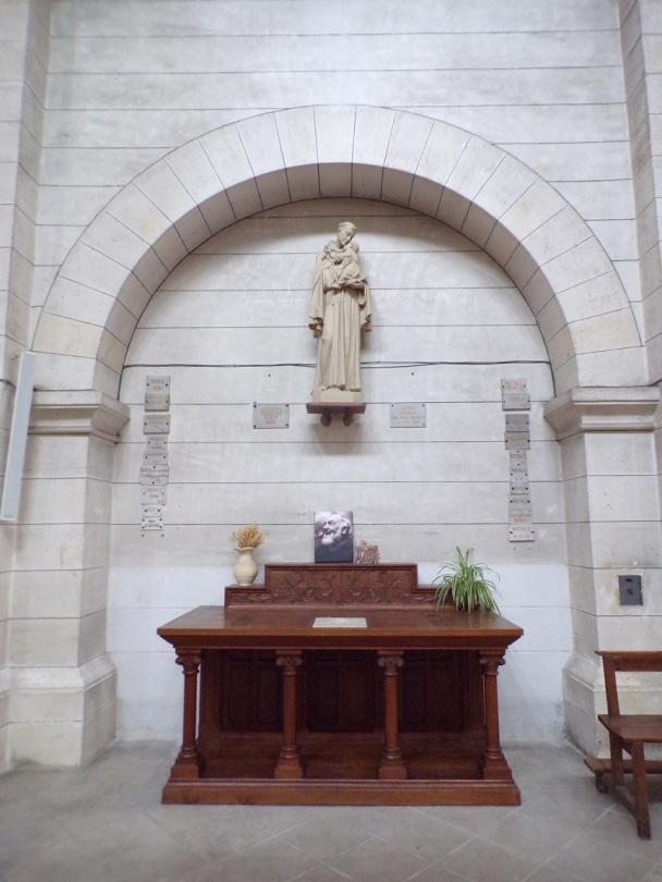 Eglise Saint Antoine – La chapelle St Antoine de Padoue (19 mars 2021)