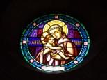 Eglise Saint Antoine – Le vitrail 'St Antoine de Padoue' (19 mars 2021)