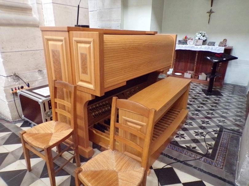 Eglise Saint Antoine – L'harmonium (19 mars 2021)