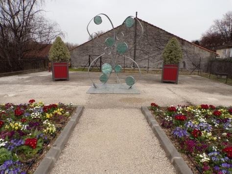 Pont Saint-Jacques - Oeuvre d'art (2 mars 2021)