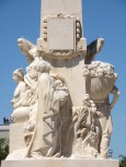 Monument à la mémoire d'Edouard Martell (10 juin 2021)