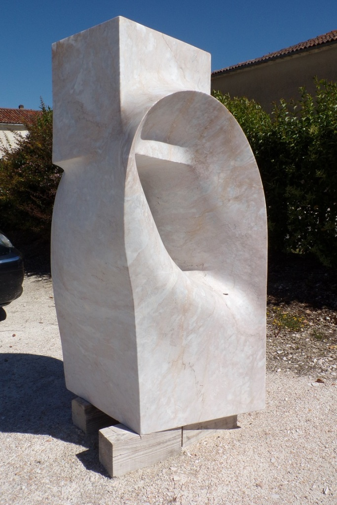 Symposium International de Sculpture sur marbre de Julienne - Eas, Senso di Globalita (17 juin 2017)