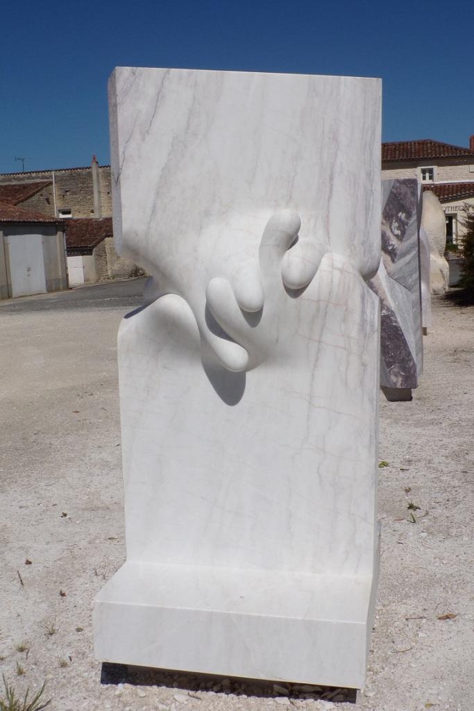 Symposium International de Sculpture sur marbre de Julienne - Together (17 juin 2017)