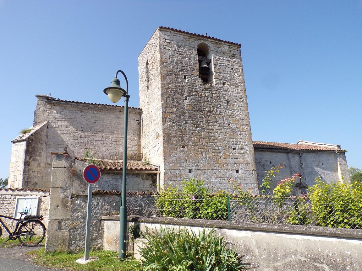 L'église Saint-Benoît (18 juillet 2021)