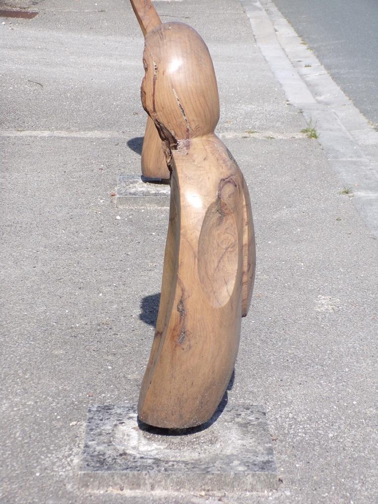 Une oeuvre d'art en bois (18 juillet 2021)