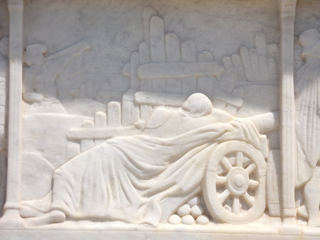 Le Roi endormi sur un canon la veille de la bataille de Marignan