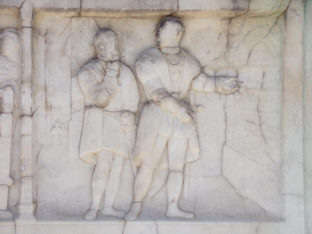 Le Roi et Charles Quint visitant les tombeaux de Saint-Denis