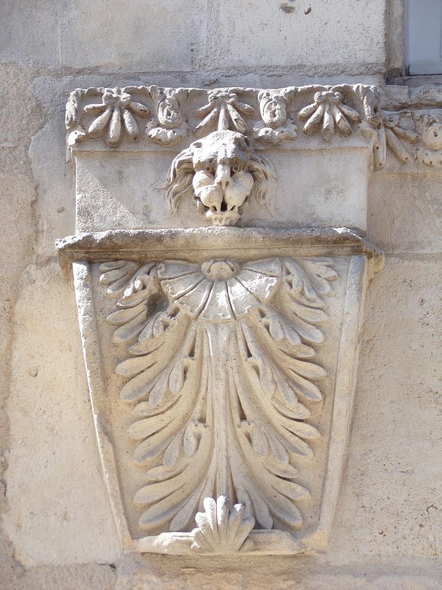L'Hôtel Perrin de Boussac - Une palmette (15 juin 2021)