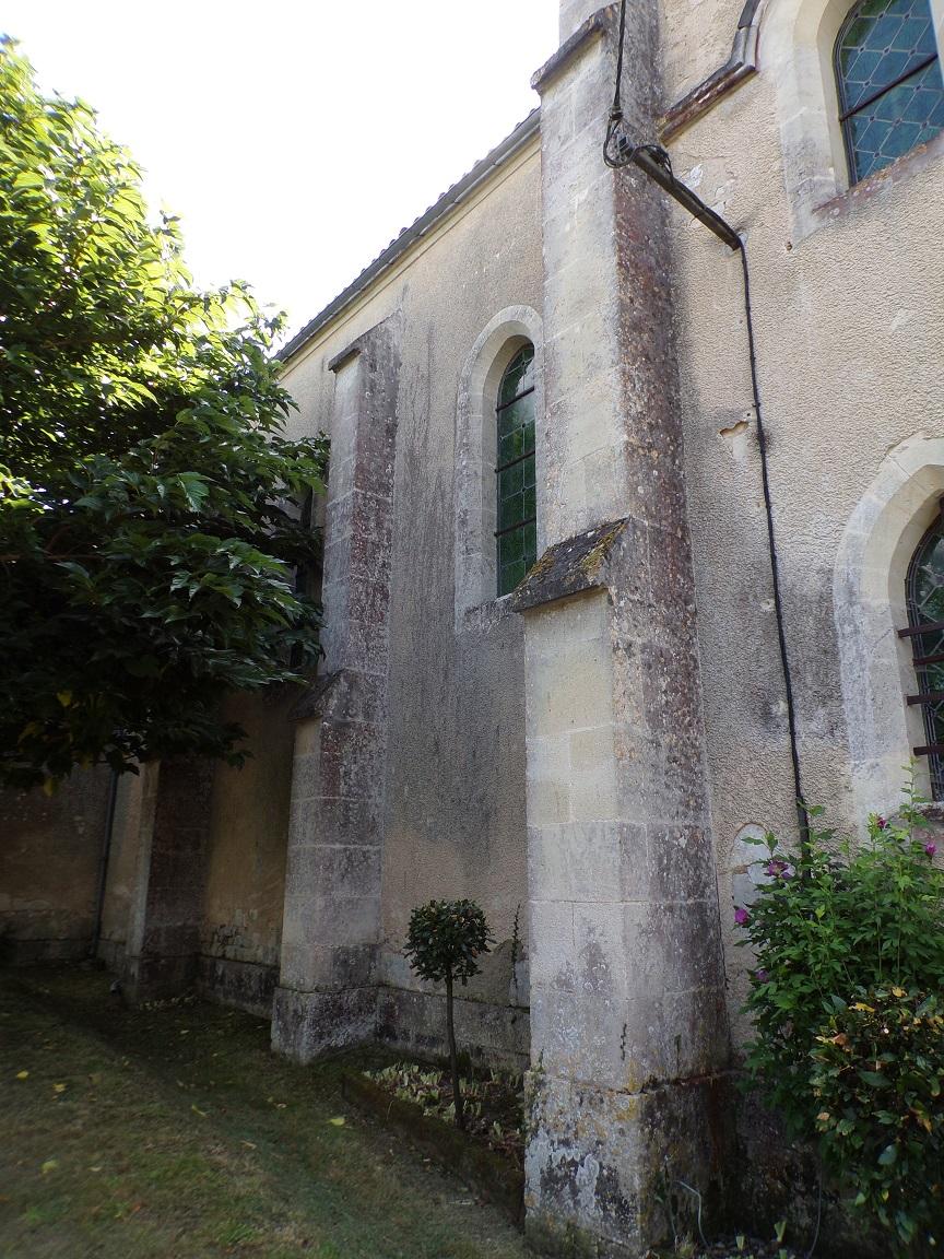 L'église Saint-Etienne (30 août 2021)