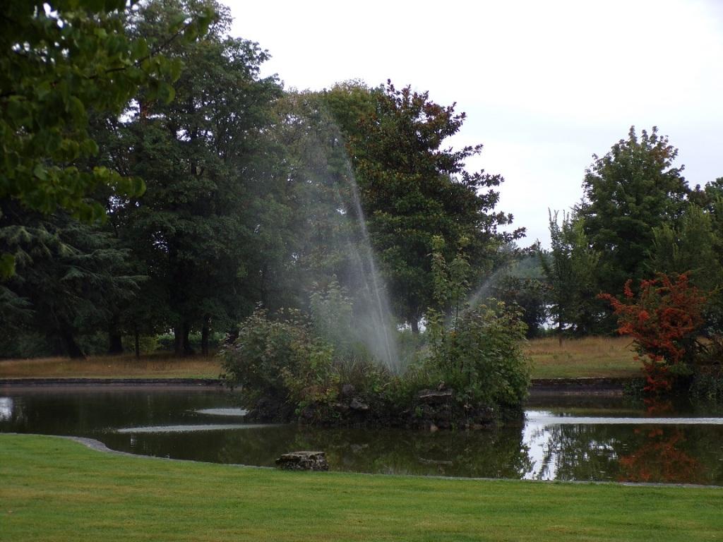 Château Chanteloup - La fontaine (18 septembre 2021)