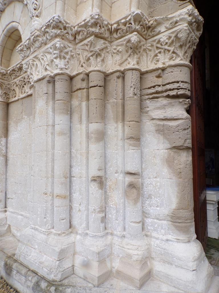 L'Abbaye de Châtre - Les colonnes (18 septembre 2021)