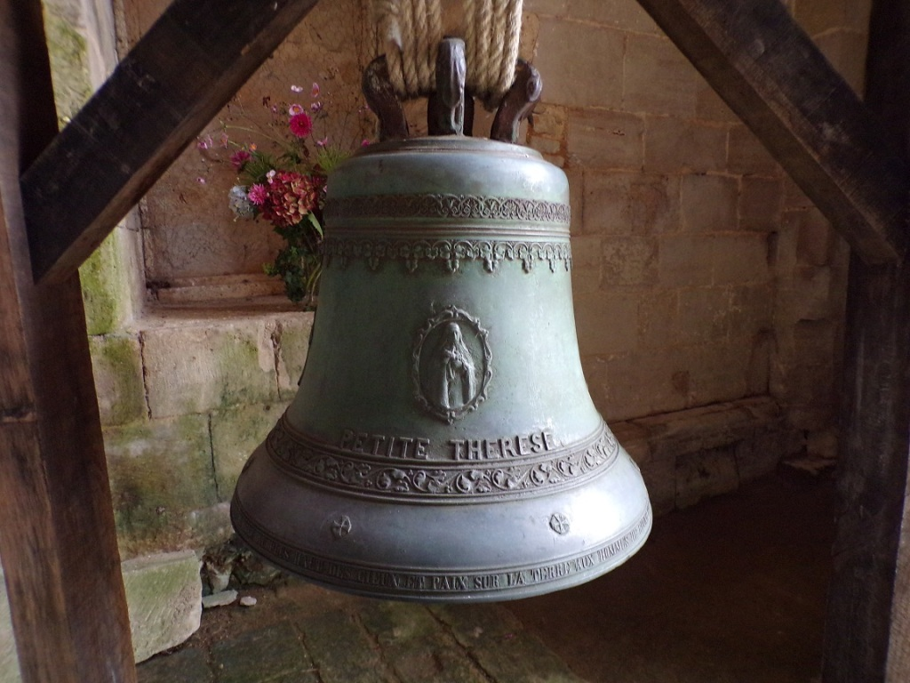 L'Abbaye de Châtre - La cloche 'Petite Thérèse' (18 septembre 2021)