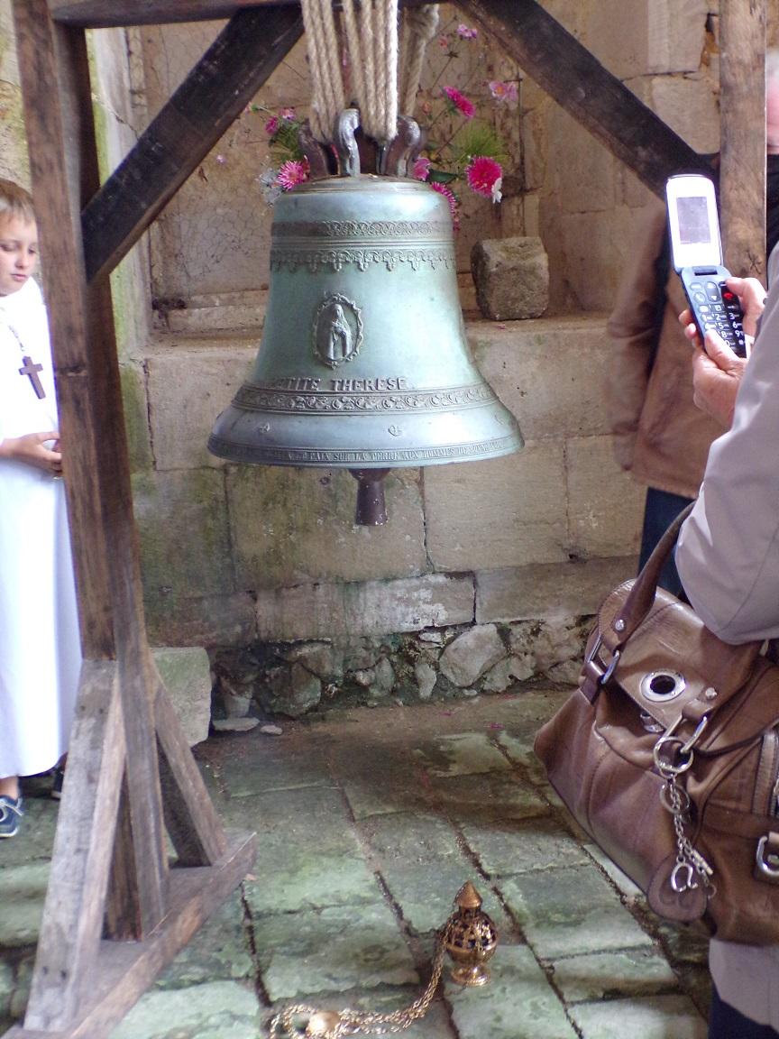 La cloche 'Petite Thérèse' (19 septembre 2021)