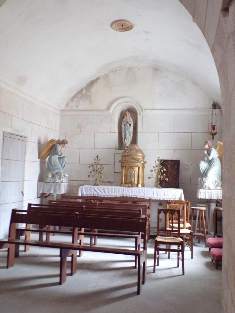 La chapelle Notre-Dame de Lourdes (18 septembre 2021)