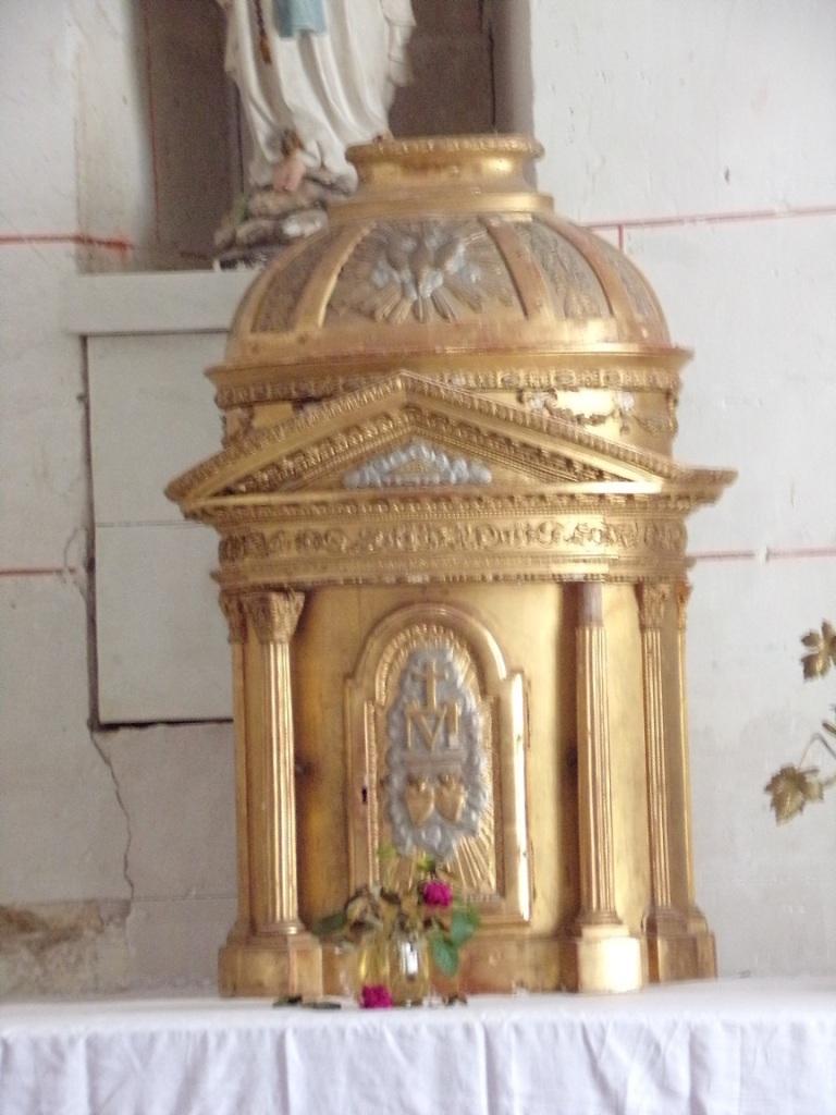 Le tabernacle de la chapelle Notre-Dame de Lourdes (18 septembre 2021)
